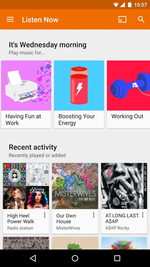 get free music on Android 5