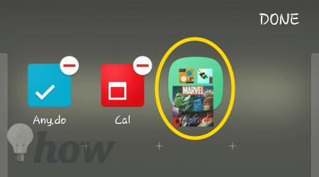 App Tray Folder 8
