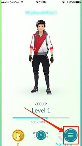 Avatar of Your Pokemon Go