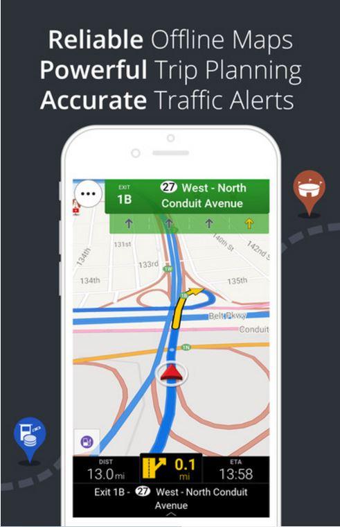 GPS Navigation iOS aPP