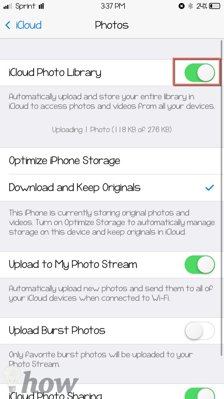 backup iPhone photos