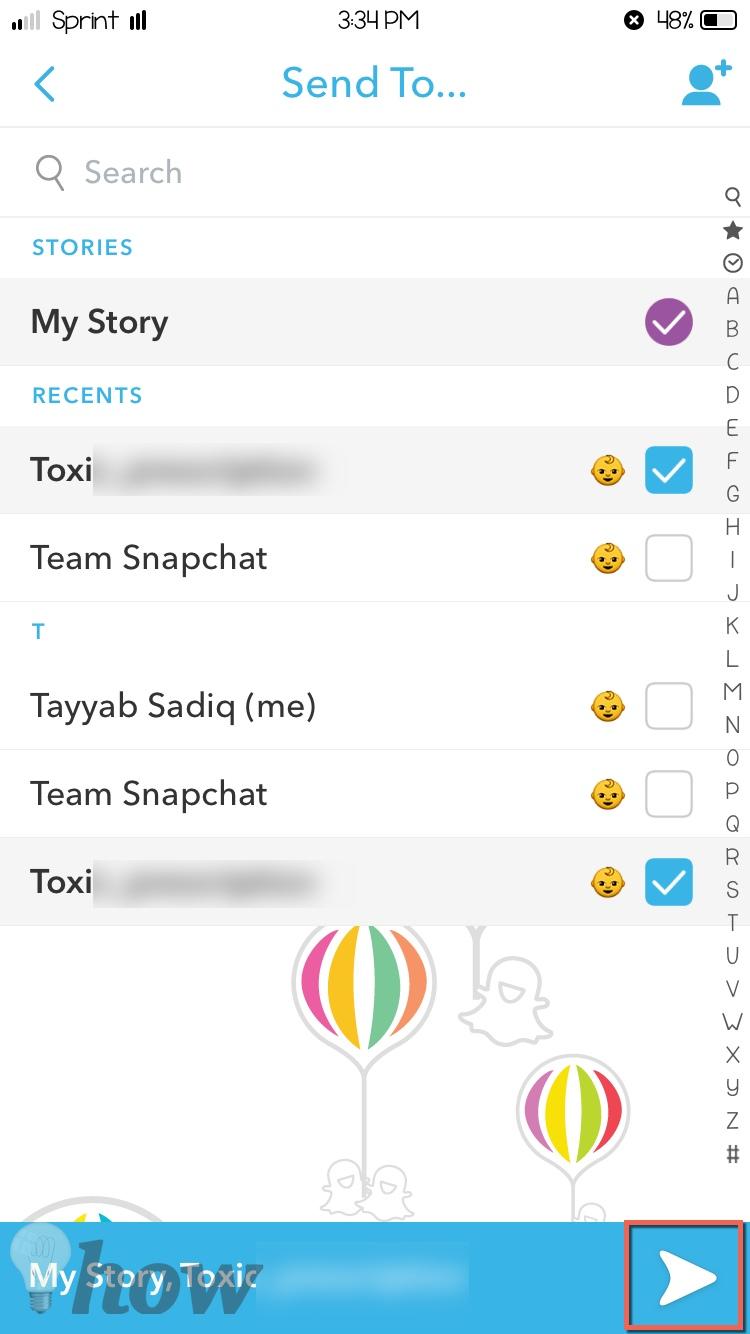 use new snapchat