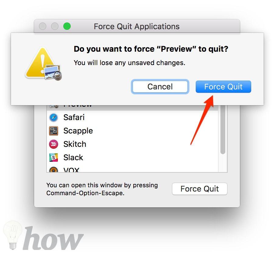 force quit the app 3
