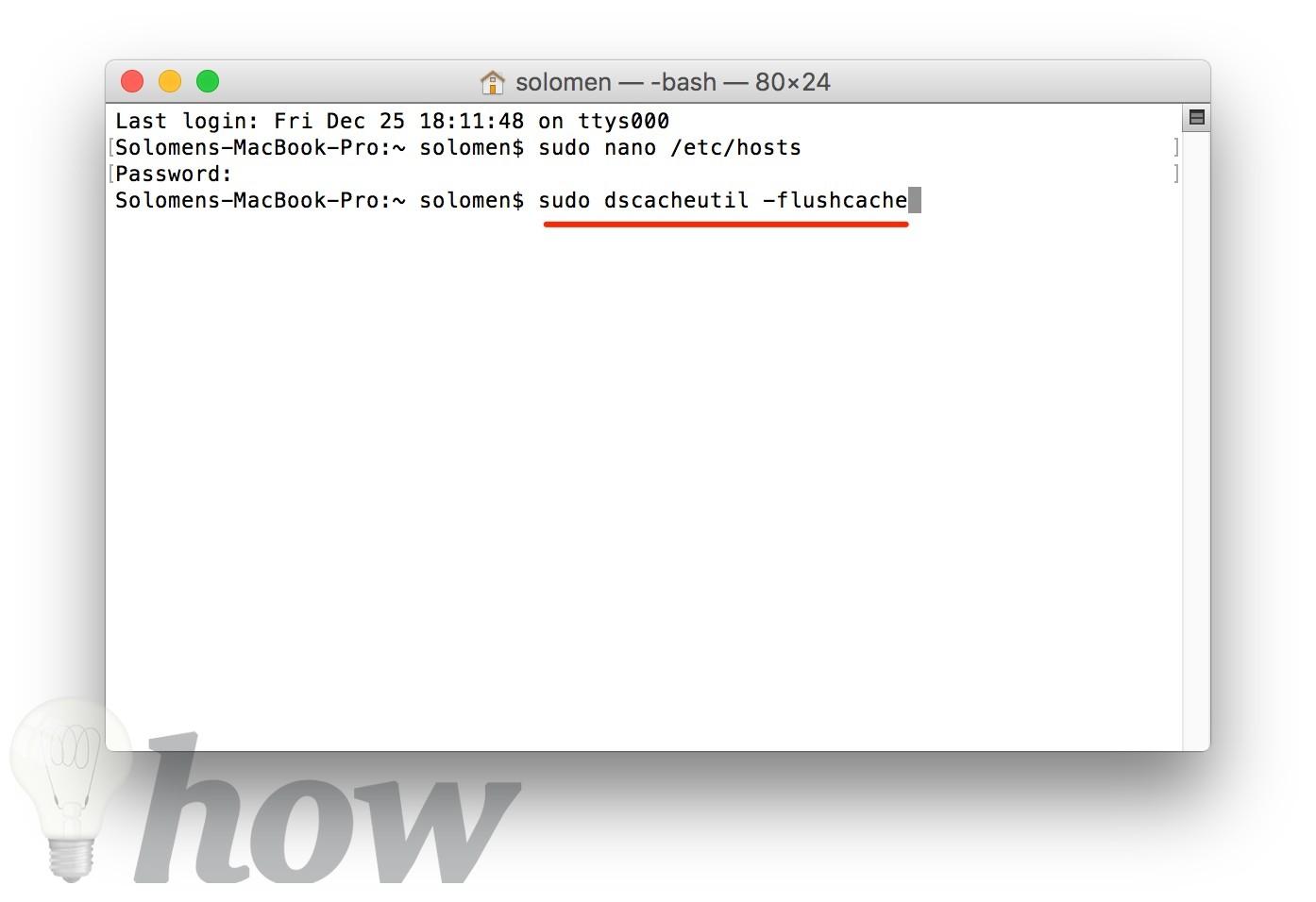 block/unblock websites on Mac