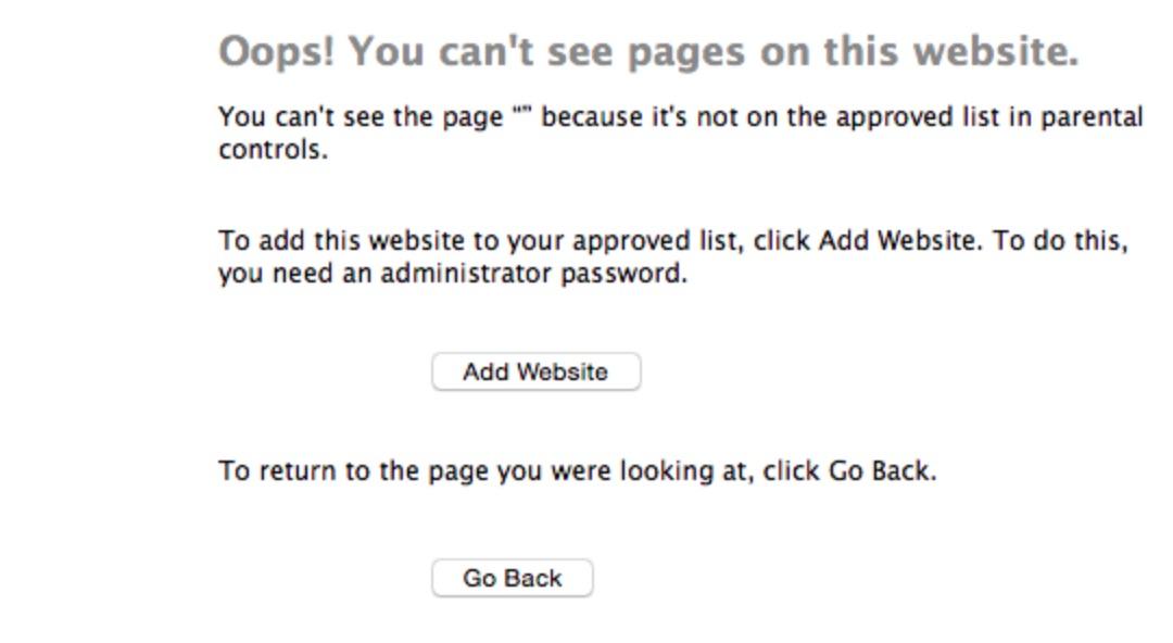 how to block websites on mac 8