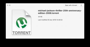 download torrent mac