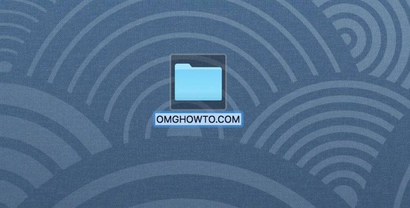 rename file on mac
