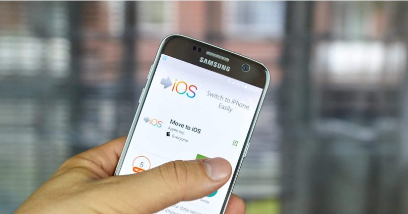 transfer data from android to ios