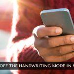 Handwriting Mode