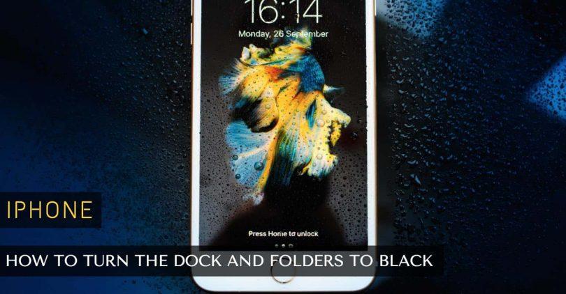 dark mode iphone
