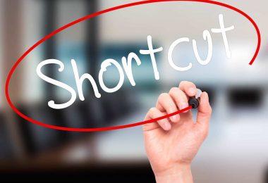 shortcuts chrome