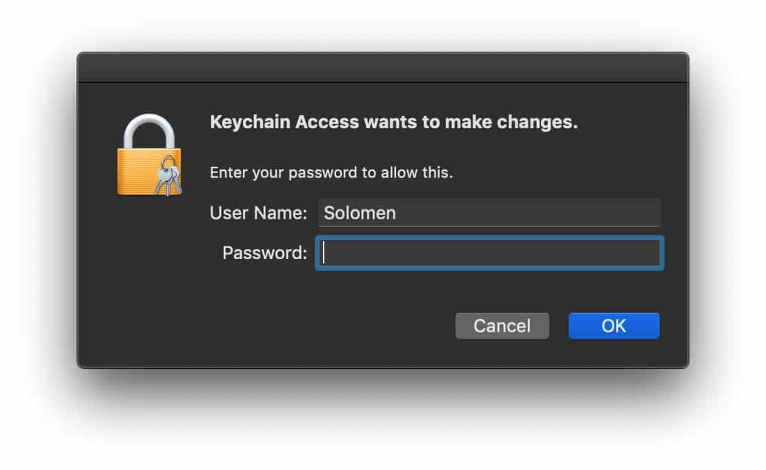 See WiFi Password On Mac
