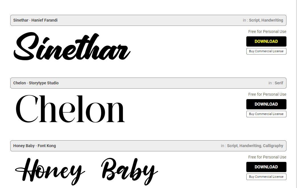 download font windows