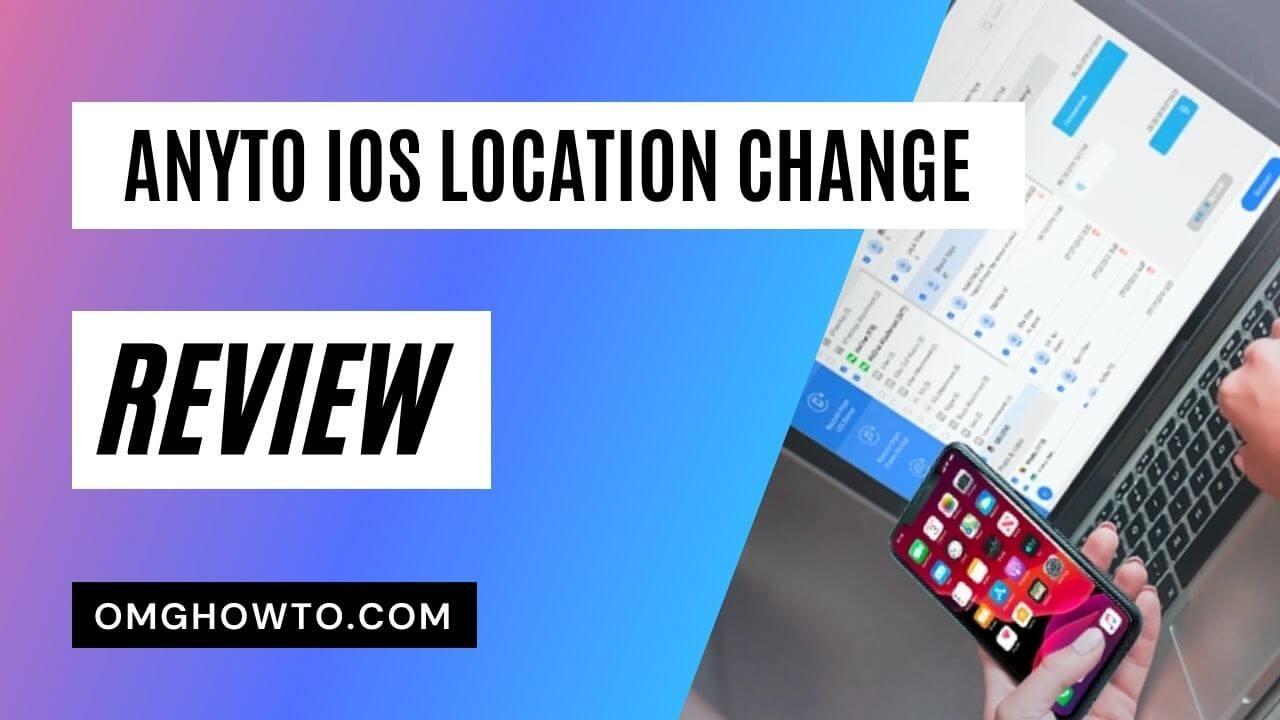 AnyTo iOS Location Change