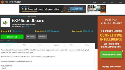 EXP Soundboard