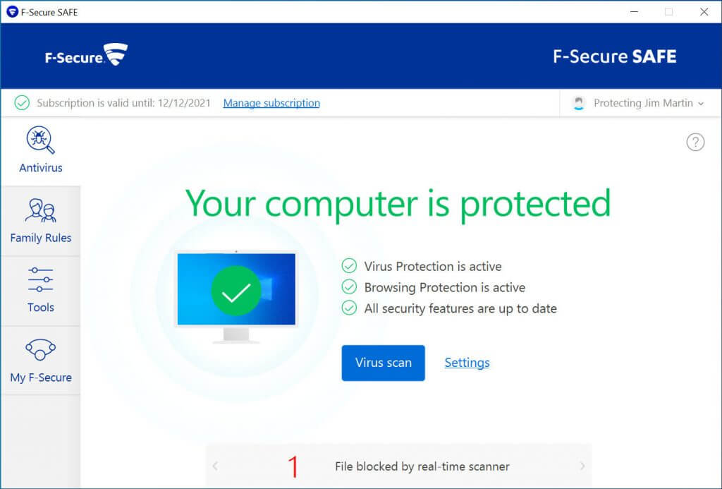 My F-Secure