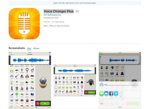 Voice Changer Plu