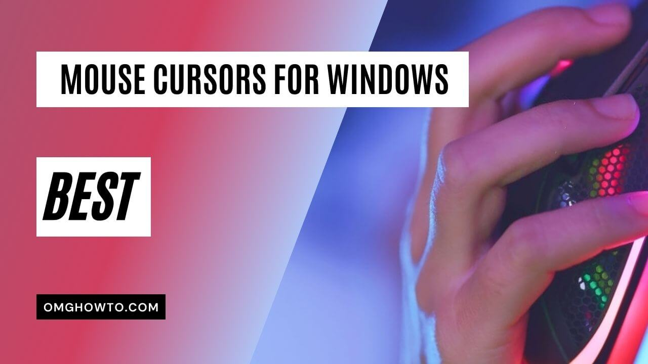 Mouse Cursors for Windows