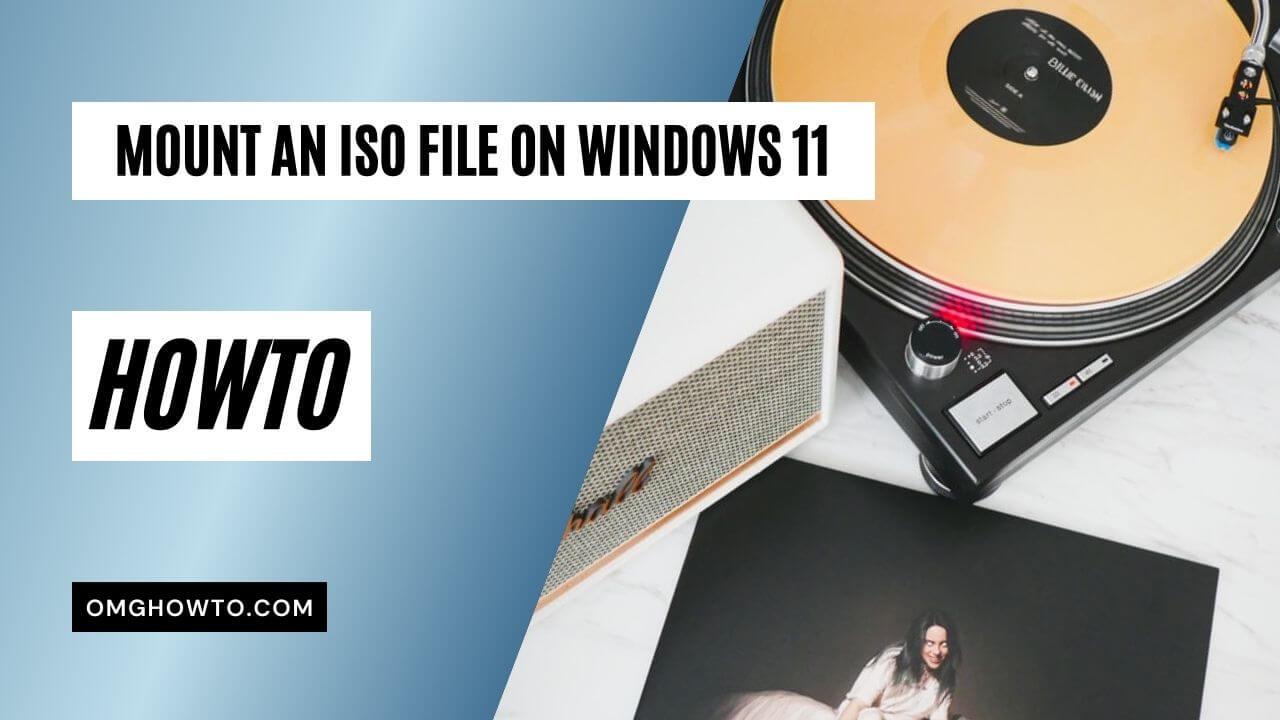 mount iso windows 11