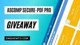 Giveaway: ASCOMP Secure-PDF Professional For Free Full Key Download