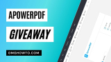 Giveaway: ApowerPDF For Free Full Key Download